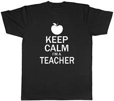 Keep Calm Yo soy un profesor Unisex para hombre para mujer Tee T-Shirt