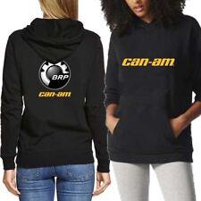 CAN AM Logo BRP ATV Renegade UTV Hoodie Black Two Sides New Women's Hoodie