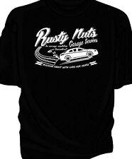 """Rusty Nuts Garage Services"" t-shirt.    Alfa Romeo GT"