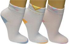 12 24 Damen Sneaker Socken Freizeitsocken Füßlinge Sportsocken Muster bunt 10