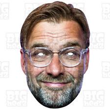 JURGEN KLOPP Face Mask BIG A3 & Life-size FC Liverpool WORLD CUP Salah Manager