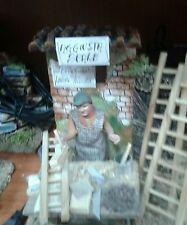 Ripara scale  mestieri pastore in movimento presepe 10 cm crib Shepherd