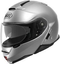 Shoei Neotec II Helmet Light Silver Full Face Flip-Up Street All Sizes