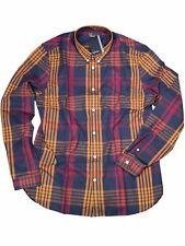Fred Perry button-down Camicia Manica Lunga m4514 738 distorted scacchi 7382
