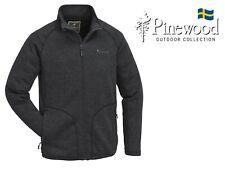 Pinewood ® Gabriel Membran Fleece Strick Jacke-Atmungsaktiv, Winddicht, Wasser..