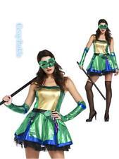 Ladies Green Ninja Turtle Halloween Cosplay Costume Women Party Kigurumi Outfit