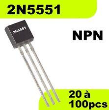 1504# Transistor 2N5551 NPN -- Prix dégressif en fonction de la quantité