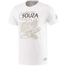 Men's Reebok Ufc Ronaldo Souza Fighter Tshirt Mens Mma Tee New