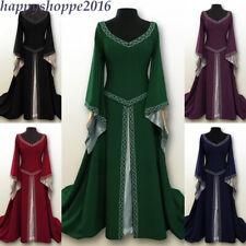 Women Medieval Fancy Cosplay Costume Renaissance Gothic Vintage Princess Dress