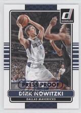 2014-15 Panini Donruss Press Proof Blue #7 Dirk Nowitzki Dallas Mavericks Card