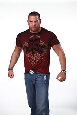 Offizielle TNA Rebel Spirit Skull Premium Qualität T-Shirt
