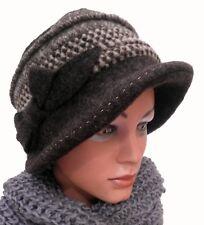 Gorro Mujer Cálido Fugger selección de color Stoffmix punto Sombreros Winter