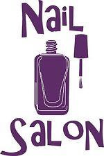 Nail Techician Beauty Hair Salon Polish Car Truck Window Vinyl Decal Sticker