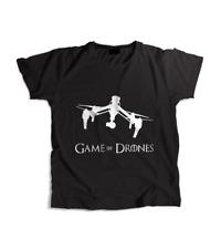 Game of Drones: DJI Inspire Drone Quadcopter Pilot Black T-Shirt
