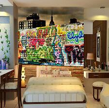 3D Graffiti Wall City 55 Wall Paper Wall Print Decal Wall Deco Indoor Mural