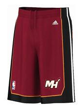 Adidas Performance Miami Heat NBA basketball basket youth size shorts