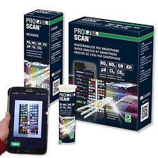 JBL ProScan Teststreifen Multi-Wasseranalyse mit Auswertung über Smartphone-App