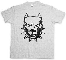 PITBULL T-SHIRT Bad Dog Bullterier Dobermann Rottweiler Chain Terrier Dawg