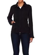 STYLED by JOE ZEE Women Utility Jacket BLACK or CAMEL