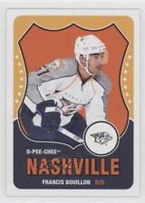2010-11 O-Pee-Chee Retro #356 Francis Bouillon Nashville Predators Hockey Card