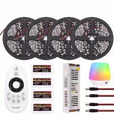 MiLight WIFI Dimmable LED Strip 5050 60led/m Black PCB DC12V LED Light Strip kit