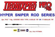 TRONIX HTO HYPER SNIPER 2pc CARBON ROD SEA GAME COARSE LURE FISHING DROP SHOT