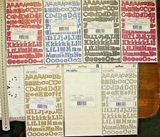 FRIENDS Glitter Flat Stickers - 7 colours 14-20mmHigh & 7-27mmWide Choice L7