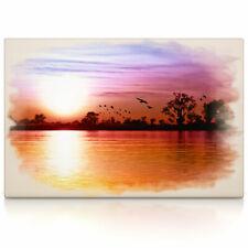 Sonnenuntergang, Poster oder Leinwand Bild auf Keilrahmen, Wandbild, Bilder, xxl