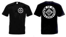 ZSD Camiseta Negro SHERIFFS Security Protector Corporal CULTO Talla 3-5xl