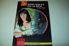 SEGRETISSIMO MONDADORI-N. 59-REX STOUT-NERO WOLFE FA LA SPIA-9 AGOSTO 1964 BELLO