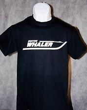 BOSTON WHALER Tee Shirt Black  FREE SHIPPING