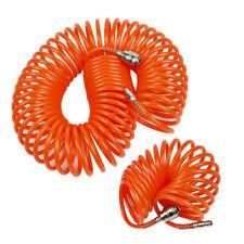 Luftschlauch 5 10 15 Meter PU PE Druckluftschlauch Spiralschlauch flexibel