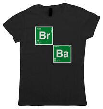 Bromine Barium, Womens T Shirt - Periodic Breaking Crystal Meth Bad TV Gift Her