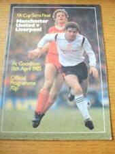 13/04/1985 FA Cup Semi-Final: Liverpool v Manchester Un