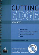 Longman CUTTING EDGE Advanced Teacher's Resource Book w Test Master CD-ROM @NEW@