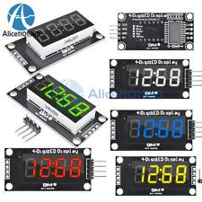 """0.36"""" inch 7-Segment 4Digit LED Display TM1637 Clock Digital Tube Module 5 Color"""