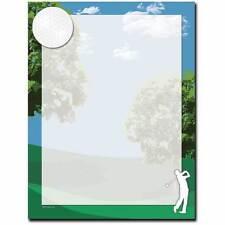 Four! Golf Themed Letterhead - 25 or 100pk
