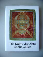 Kultur der Abtei Sankt Gallen 1990 Abteigeschichte Liturgie Gebetsverbrüderungen