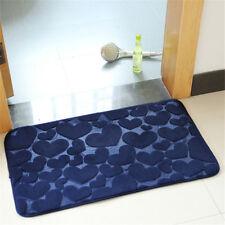 Hearts Pattern Non Slip Flannel Floor Mats Door Mats Indoor Outdoor Doormats