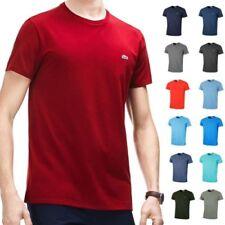 Lacoste Hommes Ss Col Rond Coton Pima T-Shirt Th6709 T-Shirt Manches Courtes