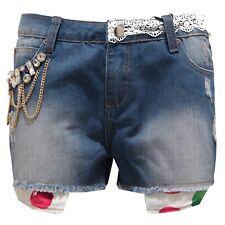 9948T pantalone corto donna GIO CELLINI DENIM short woman