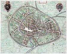 Reproduction plan ancien de Lierre (Lier) 1649