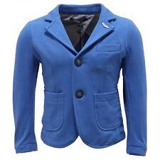 0870T giacca bimbo ASTON MARTIN jersey stretch bluette jacket kid