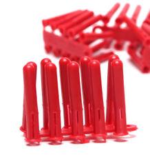 200, Rosso di mattoni Rawl Spine muro - 5,5 mm trapano - 6G 8G VITE LEGNO