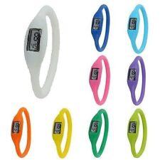 Reloj de Pulsera silicio Silicona Digital Colorido Caucho Deportivo Pulsera Regalo