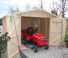 CASETTA BOX IN DI LEGNO 320x430 porta doppia casette da giardino 300x400