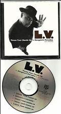 L.V. Throw Your Hands Up 5TRX& INSTRUMENTAL & Gangsta's Paradise PROMO DJ CD LV