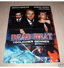 Filmposter A1 Neu Plakat Dead Heat - Tödliches Rennen