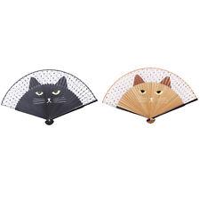 Cartoon Cat Folding Fan Handheld Hand Folding Fans For Wedding Party Gifts Shan