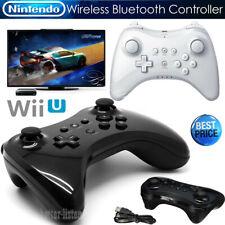 NEW U Pro Bluetooth Wireless Controller Gamepad for Nintendo Wii U Black / White